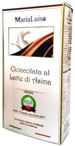 Maria Luisa Cioccolata al Latte di Asina